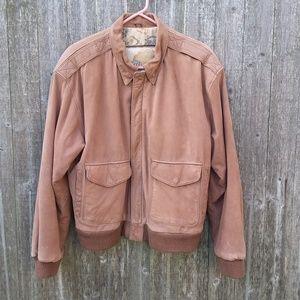 Global Identity G-III Leather Bomber Jacket